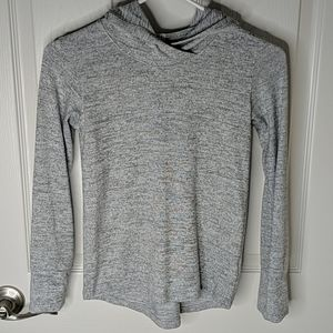 Champion Pullover Heather Gray Hoodie thumb holes